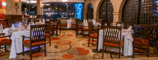 Interior de Restaurante Acueducto
