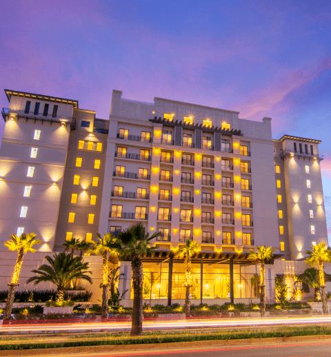 Fachada de Hotel Lucerna Ensenada