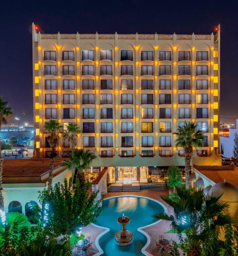 Fachada de Hotel Lucerna Juárez