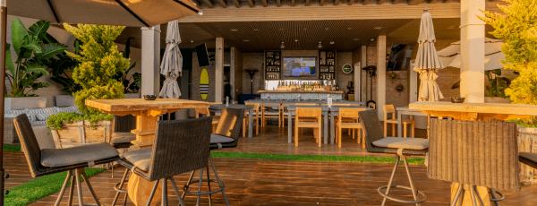 Fachada de Restaurante La Azotea en Ensenada