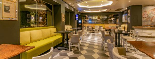 Interior de Restaurante Los Portales
