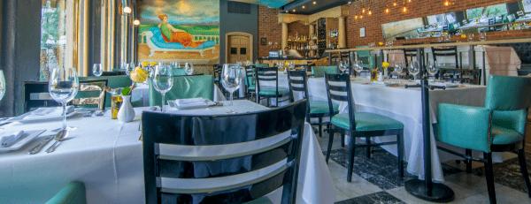 Interior de Restaurante Mezzosole