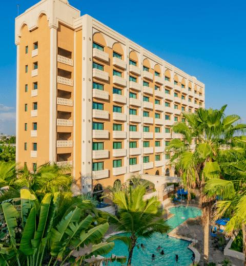 Fachada de Hotel Lucerna Culiacán