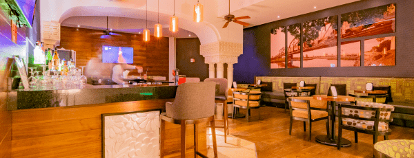Interior de Bar Pórtico