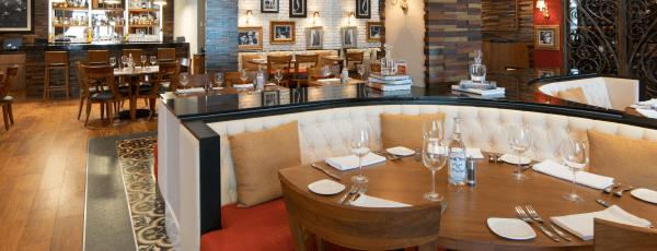 Interior de El Grill Prime Steakhouse en Culiacán