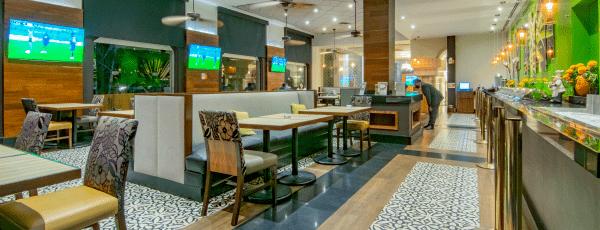 Interior de Restaurante La Terraza
