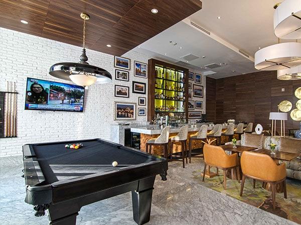 Billar en K-Lounge