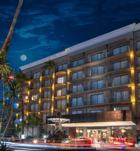Fachada de Hotel Lucerna Tijuana