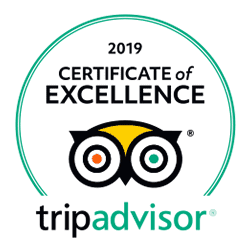 Certificado de TripAdvisor de 2019